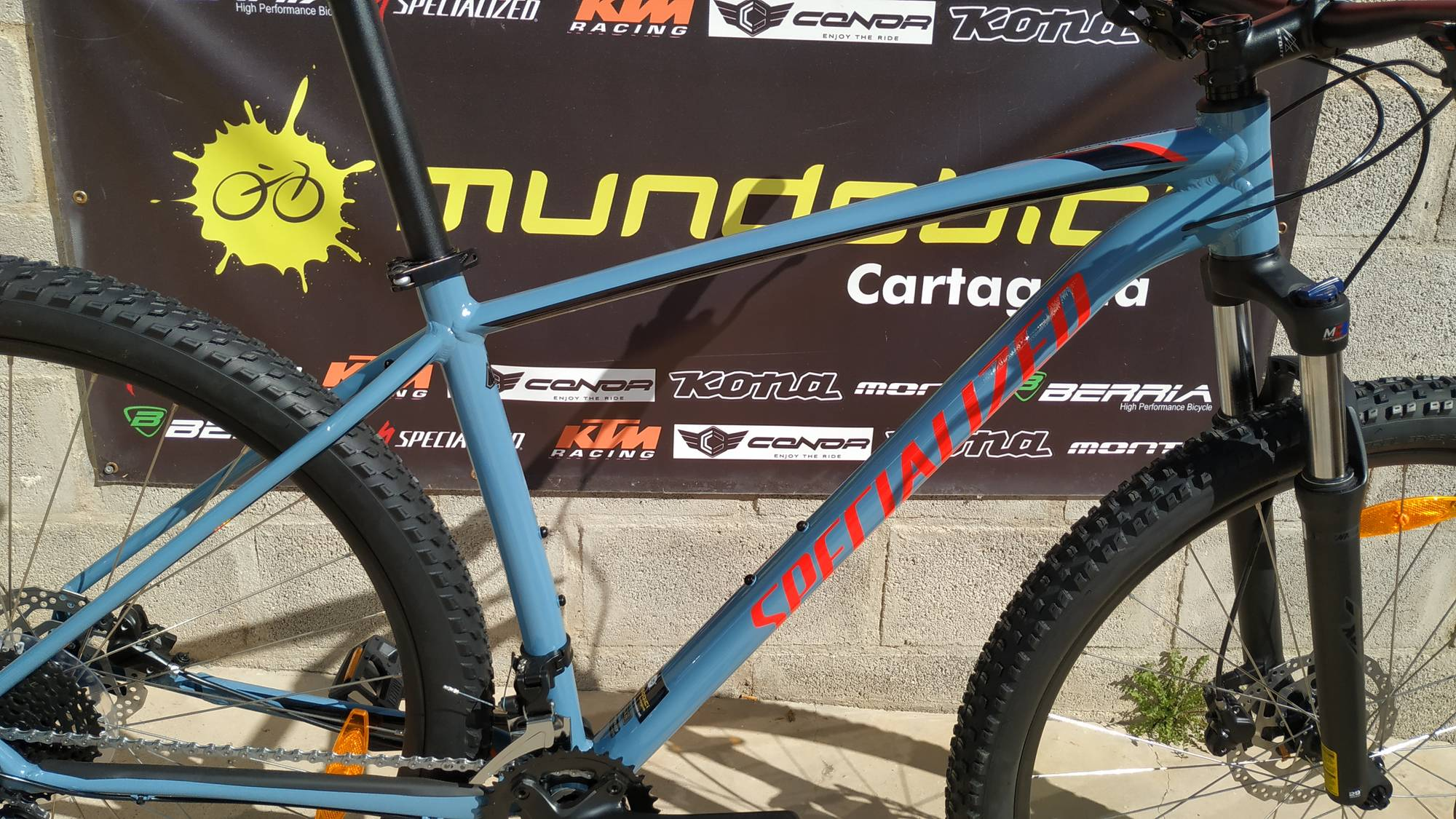 Specialized Mens Rockhopper comp cuadro
