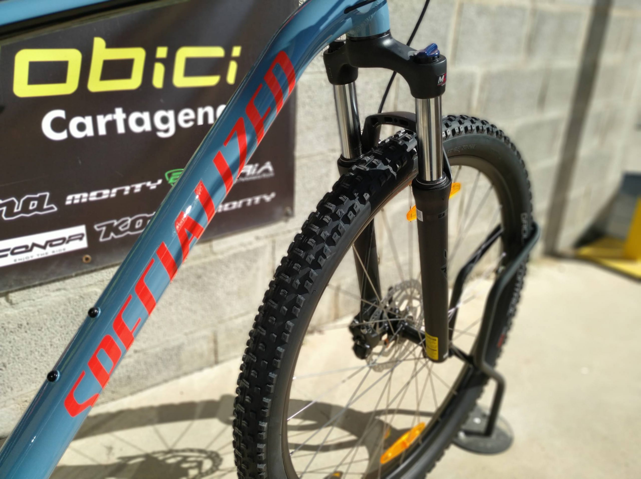 Specialized Mens Rockhopper comp horquilla